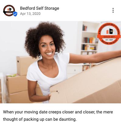 GMB Storage Post