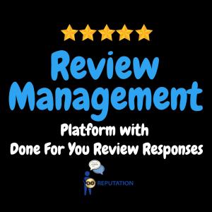 GMB Service Review Management Platform w DFY Response