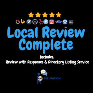 Google My Business Local Review Complete Service