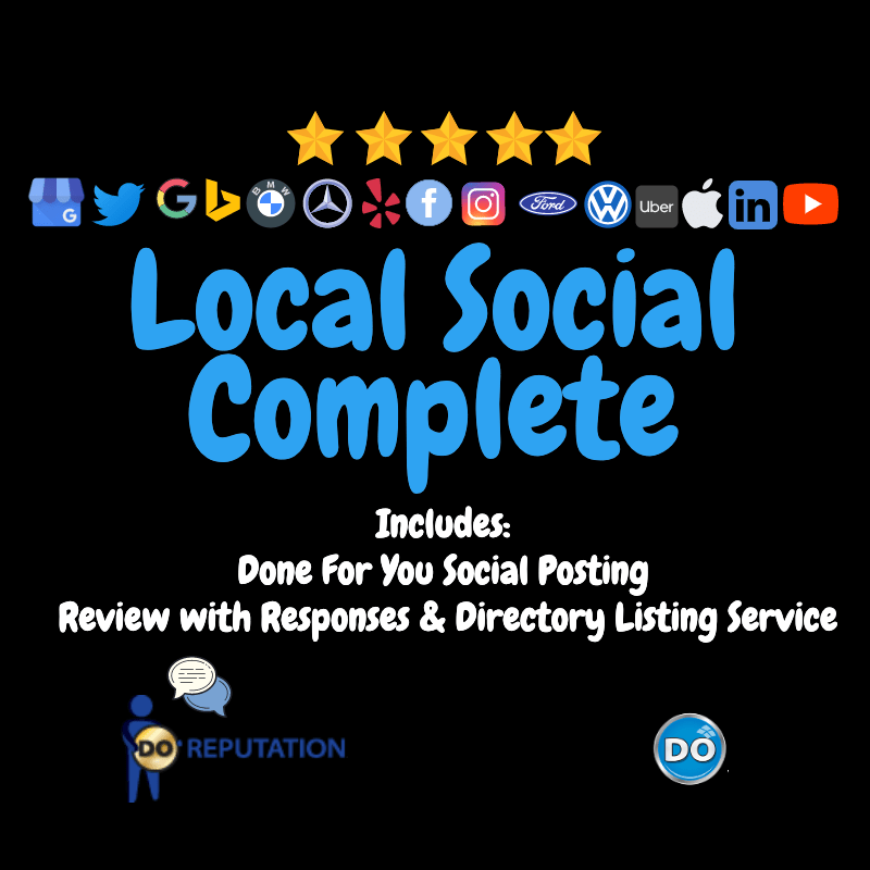Google My Business Local Social Complete Service
