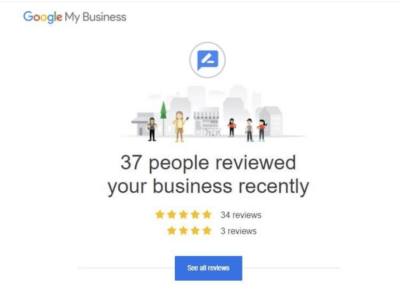 Google My Business Reviews 37