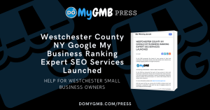 Westchester County NY Google My Business Ranking Expert SEO Services DOMYGMB